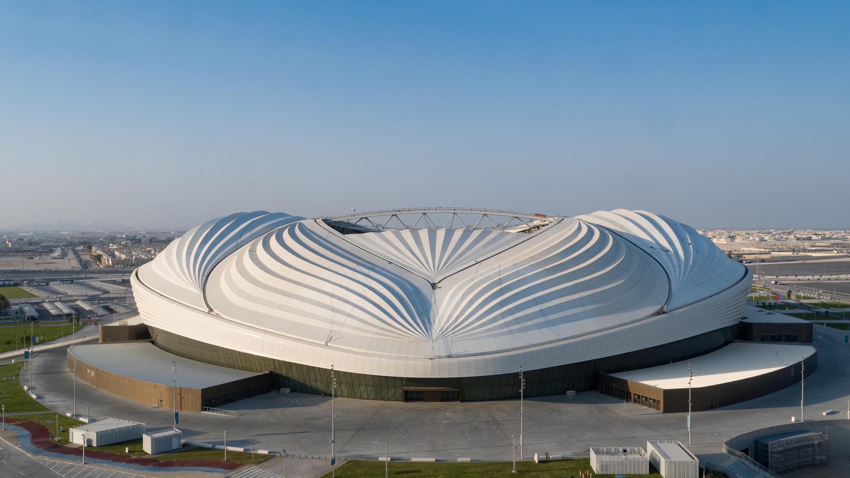 Le stade Al Janoub à Al Wakrah, où se dérouleront des rencontres du Mondial-2022.