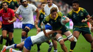 L'Australie n'a pas eu à forcer son talent contre l'Uruguay.