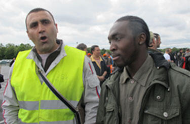 Mekbel Moussa (à gauche) et Desormis Sevenor (à droite)