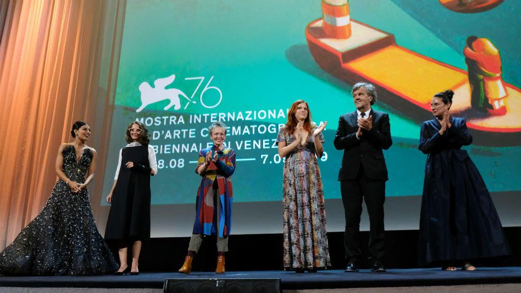 Edición 76 del Festival de Cine de Venecia. Ceremonia de apertura. Venecia, Italia 28 de agosto de 2019.