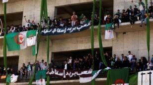 مظاهرات في العاصمة الجزائرية مناهضة للرئيس بوتفليقية - 15 مارس/آذار