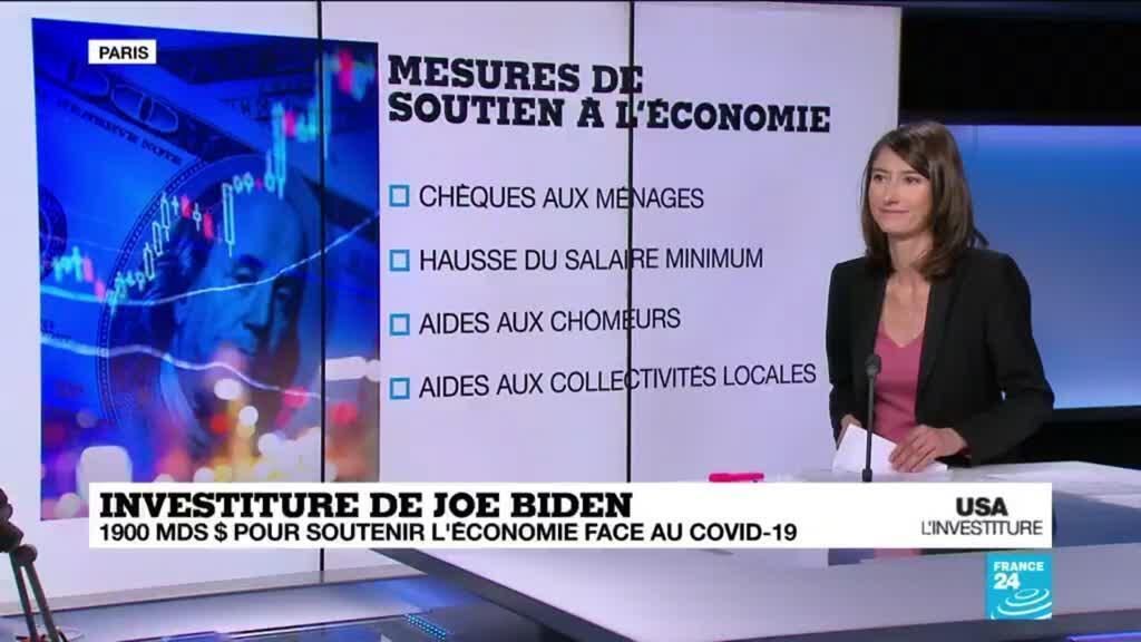 2021-01-20 13:38 Investiture de J. Biden : le nouveau président va réintègrer l'accord de Paris, première étape de son action climatique