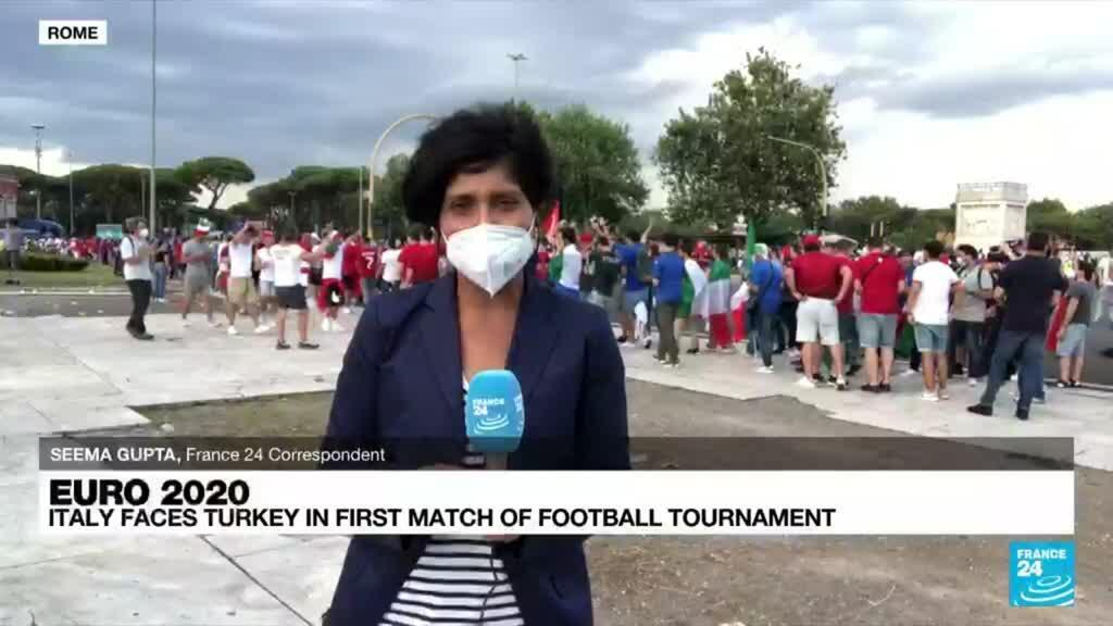 2021-06-11 18:19 Italy and Turkey get ball rolling as Euro 2020 begins under Covid cloud