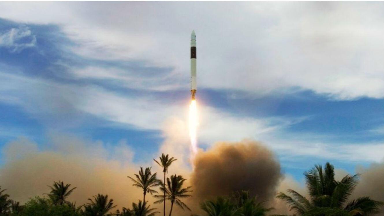 Lancement d'un Falcon 1 en juillet 2009.
