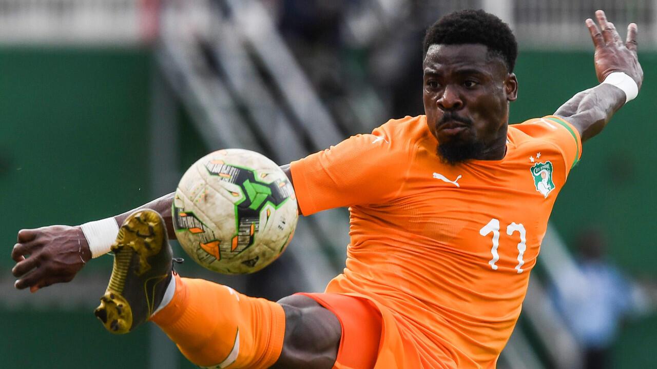 Le défenseur international ivoirien Serge Aurier (archives).