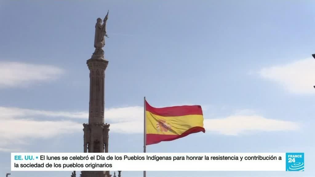 2021-10-12 19:04 Algunos españoles cuestionan su pasado colonial
