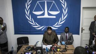 La procureure de laCPI, Fatou Bensouda, le 3mai2018.