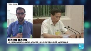 """2020-06-30 07:31 Loi controversée sur la sécurité nationale à Hong Kong : """"Elle pourrait mettre un terme à tout mouvement de contestation"""""""