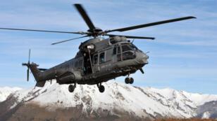 L'hélicoptère Caracal en opération en Afghanistan (archives).
