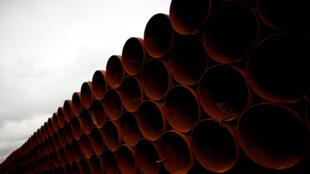 La société canadienne TransCanada attend depuis 2008 l'éventuel feu vert de Barack Obama pour lancer le chantier d'oléoduc Keystone XL.