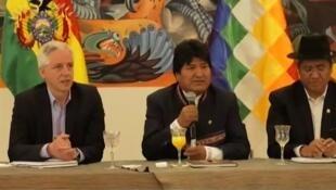 Evo Morales, dimanche 20 octobre 2019.