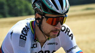 Slovakia's Peter Sagan rides during the 207.5km fourth stage of the 104th edition of the Tour de France cycling race on July 4, 2017.