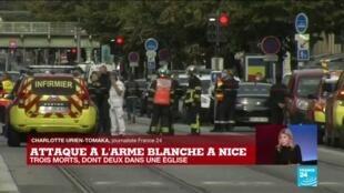 2020-10-29 11:20 Les réactions politiques suite à l'attaque au couteau à Nice