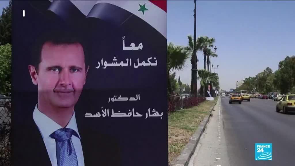 2021-05-20 16:11 Élection présidentielle syrienne : les Syriens du Liban affluent pour voter à l'ambassade