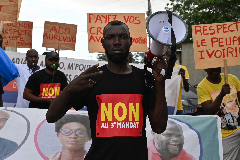 cote d'ivoire manifestation