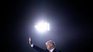 Le président américain Donald Trump à Middletown, en Pennsylvanie,le 26 septembre 2020