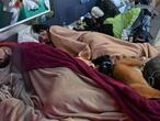 Two adults, two kids, one square metre each: trapped in a shoebox under lockdown