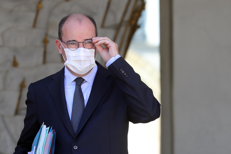 Le Premier ministre Jean Castex, à la sortie de l'Élysée, le 29 juillet 2020.