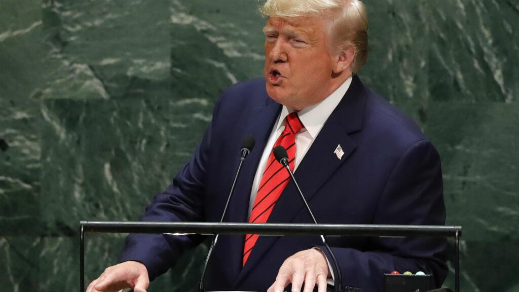 En su discurso a la Asamblea General de la ONU, el presidente estadounidense Donald Trump condenó a los gobiernos de Cuba, Nicaragua y Venezuela.