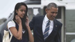 La fille aînée de Barack Obama, Malia, va intégrer la presitigieuse université de Harvard aux États-Unis à la rentrée 2017.