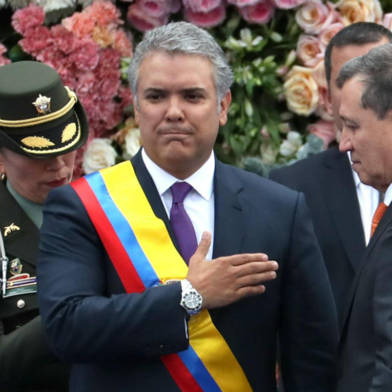 Iván Duque se posesionó como presidente de Colombia