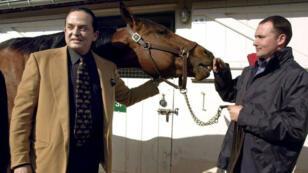 Alec Wildenstein, l'un des héritiers du marchand Daniel Wildenstein, le 7 mars 2002 à Deauville.