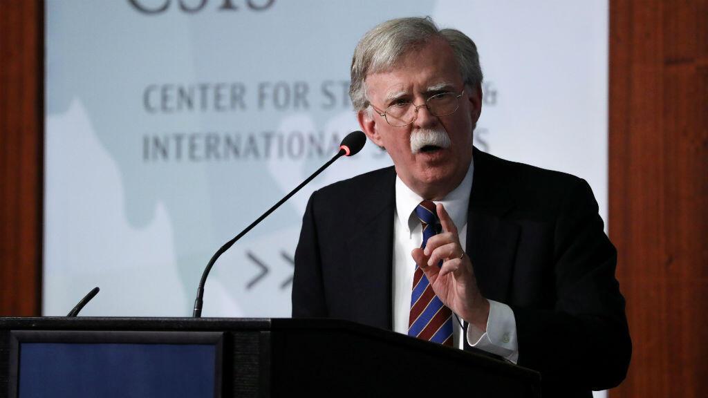 El ex asesor de seguridad nacional de la Casa Blanca, John Bolton, hizo comentarios sobre Corea del Norte en el Centro de Estudios Estratégicos e Internacionales (CSIS) en Washington, EE. UU., el 30 de septiembre de 2019.