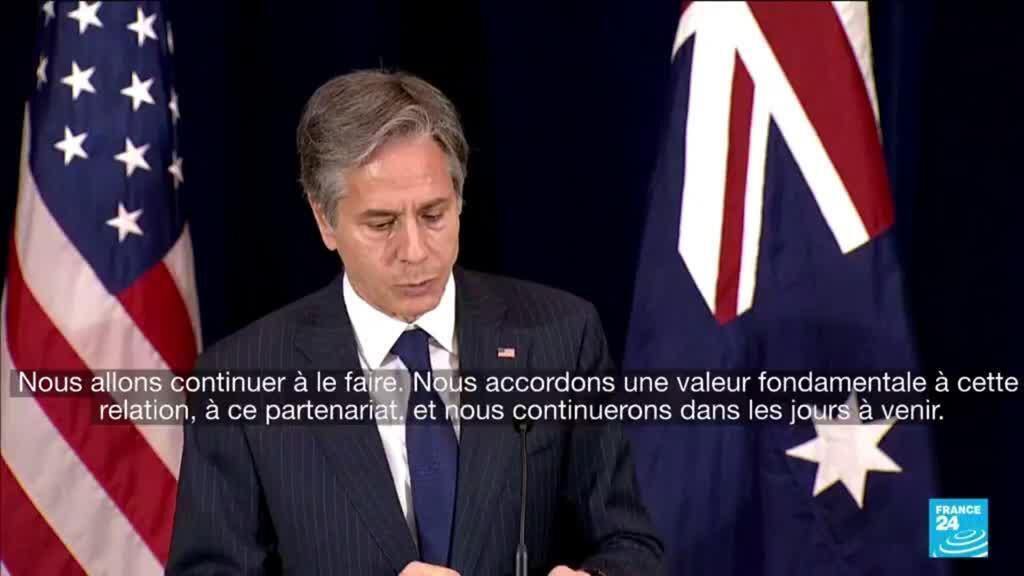 2021-09-17 10:01 Sous-marins : l'Australie dit avoir prévenu la France d'une possible annulation de la commande