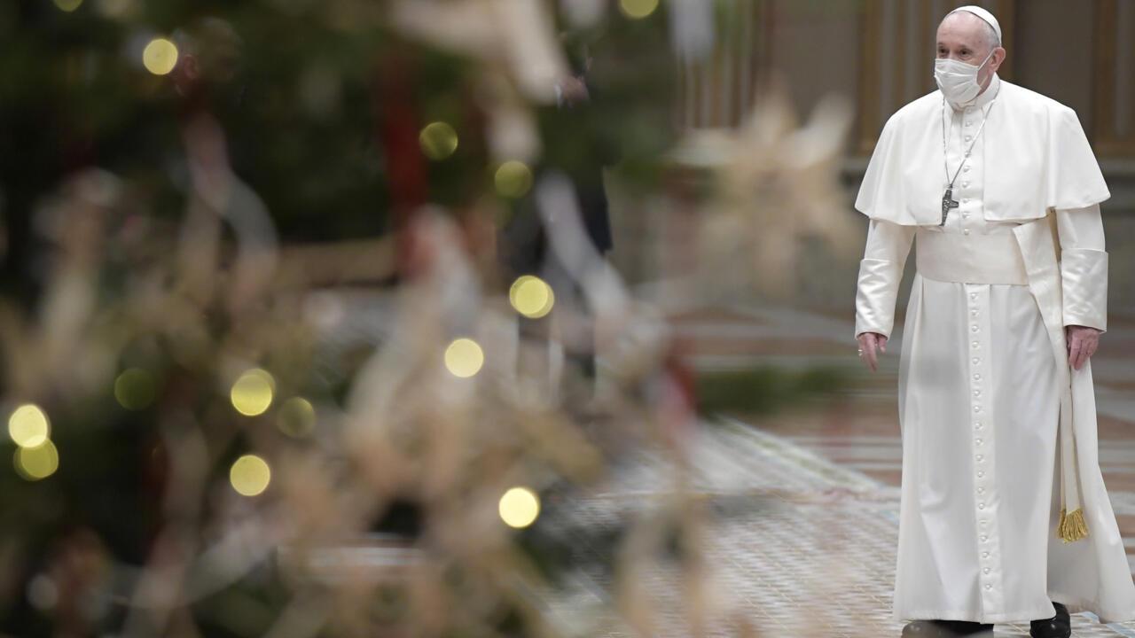 """البابا فرنسيس يعلن أنه سيتلقى اللقاح المضاد لفيروس كورونا """"الأسبوع المقبل"""""""