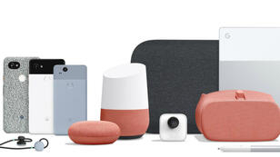 Les nouveaux produits Google présentés le mardi 4 octobre 2017.