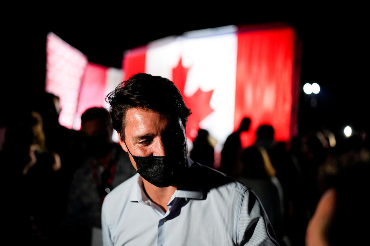 Canada Trudeau election campaign