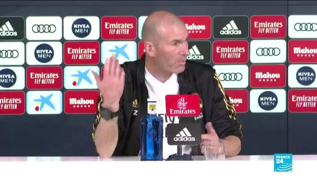 2021-05-27 16:14 Zidane quits again as Madrid coach after winless season