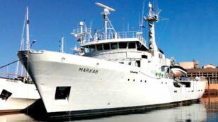Le navire Markab se trouve actuellement en Croatie.