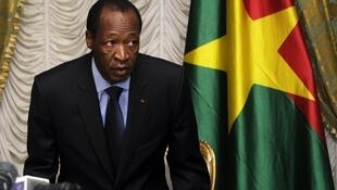 L'ex-président burkinabè, Blaise Compaoré, est resté au pouvoir pendant 27 ans.