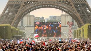 فرنسا فازت بلقبها العالمي الثاني أمام كرواتيا 15 تموز/يوليو 2018