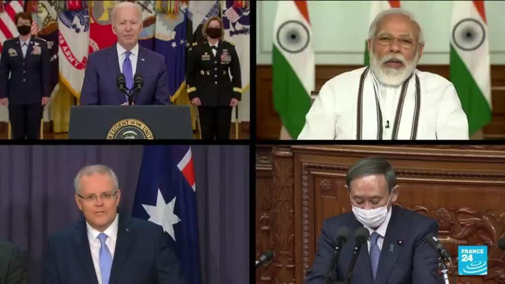 2021-09-24 13:41 Quad summit: Biden hosts Indo-Pacific leaders as China concerns grow