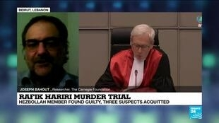 "2020-08-18 22:08 Rafik Hariri murder trial: ""This is a tremendous event in Lebanese political life"""
