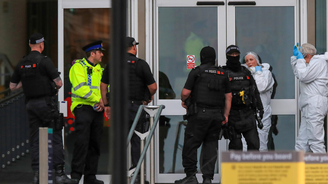 Manchester stabbing suspect 'acted alone,' British police say