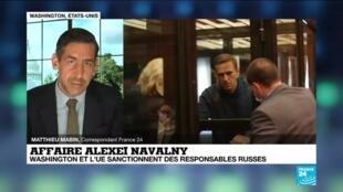 2021-03-02 16:31 Affaire Alexei Navalny : Washington et l'U.E sanctionnent des responsables russes
