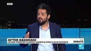 2019-10-28 19:24 Wassim Nasr discusses the strategy behind al-Baghdadi's location in the Idlib province of Syria