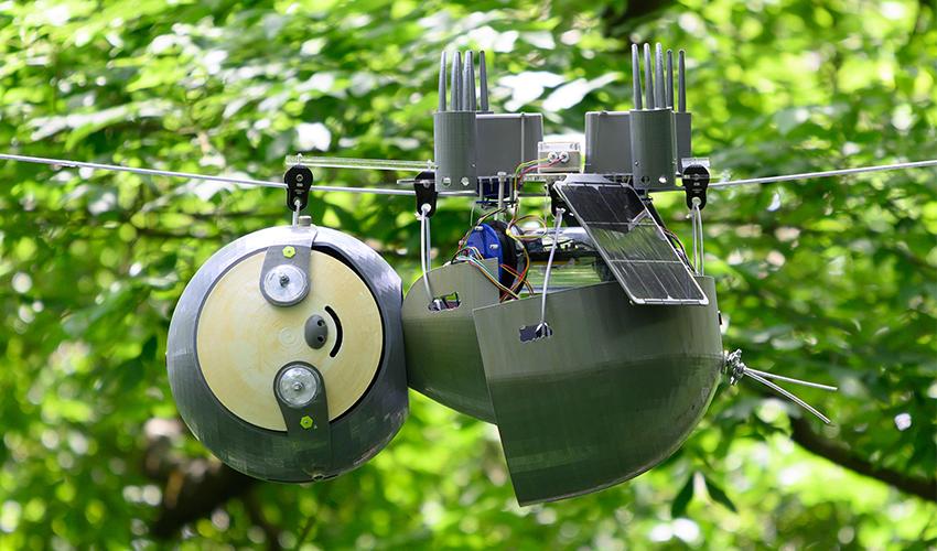 حديقة أتلانتا النباتية تختبر روبوت لمراقبة النباتات والحيوانات المعرضة للانقراض