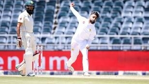 Faheem Ashraf exerted pressure on South Africa, taking three wickets for 57 runs