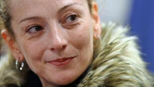 Florence Cassez peu de temps après son arrivée à l'aéroport de Roissy