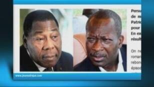 Thomas Boni Yayi, président du Bénin, et Patrice Talon.