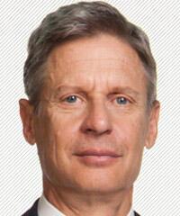 Gary Johnson - Libertarian