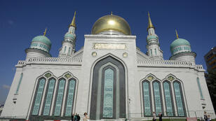 La Grande Mosquée de Moscou peut accueillir jusqu'à 10 000 fidèles.