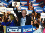 Nevada caucus strengthens Bernie Sanders' status as Democratic front-runner