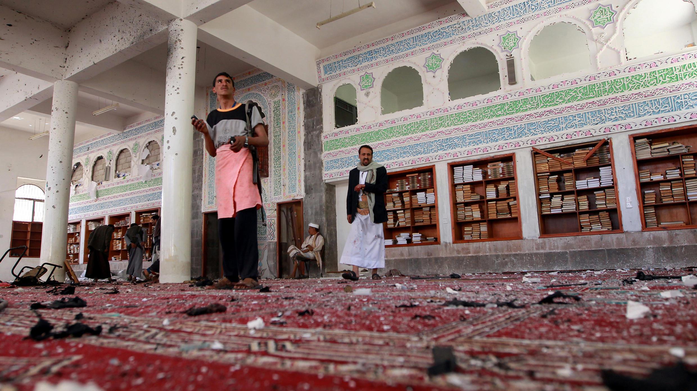 Les attaques du vendredi 20 mars 2015 sont les plus sanglantes depuis la prise du pouvoir à Sanaa par les Houthis, début février.