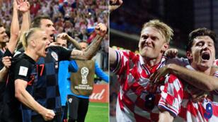 Vingt ans après 1998, les nouveaux Croates répondent à leurs aînés.