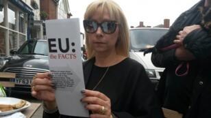 Pippy Woodley, une électrice conservatrice du comté de Rutland, est horrifiée par la perspective de rester dans l'UE.